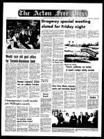 Acton Free Press (Acton, ON), January 21, 1970