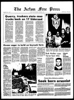Acton Free Press (Acton, ON), November 4, 1970