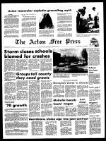 Acton Free Press (Acton, ON), January 27, 1971
