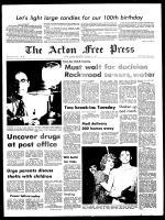 Acton Free Press (Acton, ON), December 15, 1971