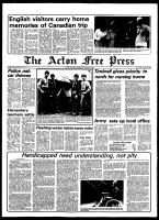 Acton Free Press (Acton, ON), August 1, 1979