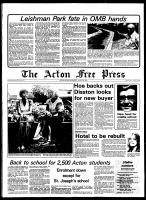 Acton Free Press (Acton, ON), August 29, 1979
