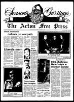 Acton Free Press (Acton, ON), December 19, 1979
