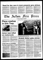 Acton Free Press (Acton, ON), July 9, 1980