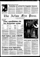 Acton Free Press (Acton, ON), October 22, 1980