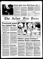 Acton Free Press (Acton, ON), October 29, 1980