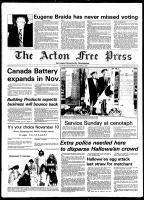 Acton Free Press (Acton, ON), November 5, 1980