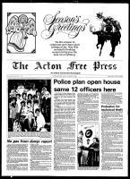 Acton Free Press (Acton, ON), December 23, 1980