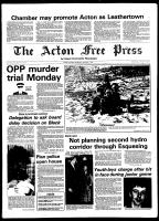 Acton Free Press (Acton, ON), January 7, 1981