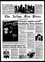 Acton Free Press (Acton, ON), February 25, 1981