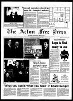 Acton Free Press (Acton, ON), March 11, 1981