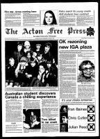 Acton Free Press (Acton, ON), March 18, 1981