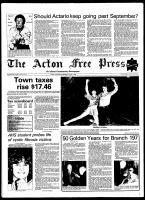 Acton Free Press (Acton, ON), April 1, 1981