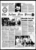 Acton Free Press (Acton, ON), July 1, 1981