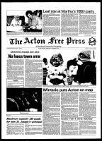 Acton Free Press (Acton, ON), December 2, 1981