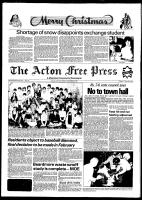 Acton Free Press (Acton, ON), December 22, 1981