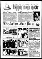 Acton Free Press (Acton, ON), December 30, 1981