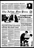 Acton Free Press (Acton, ON), January 13, 1982