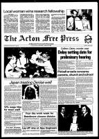 Acton Free Press (Acton, ON), January 20, 1982