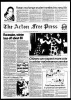 Acton Free Press (Acton, ON), February 2, 1982
