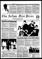 Acton Free Press (Acton, ON), February 9, 1982
