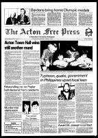 Acton Free Press (Acton, ON), February 16, 1982