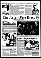 Acton Free Press (Acton, ON), March 10, 1982