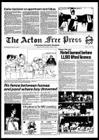 Acton Free Press (Acton, ON), March 17, 1982