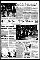 Acton Free Press (Acton, ON), September 1, 1982