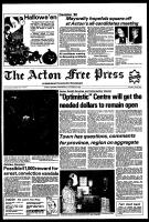 Acton Free Press (Acton, ON), October 27, 1982