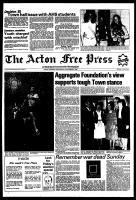 Acton Free Press (Acton, ON), November 3, 1982