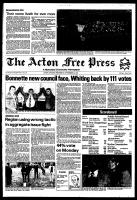 Acton Free Press (Acton, ON), November 10, 1982