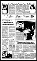 Acton Free Press (Acton, ON), July 13, 1983