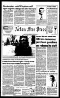 Acton Free Press (Acton, ON), January 11, 1984