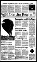 Acton Free Press (Acton, ON), March 21, 1984