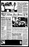 Acton Free Press (Acton, ON), April 4, 1984