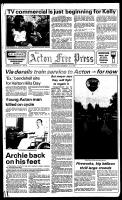 Acton Free Press (Acton, ON), July 4, 1984