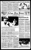 Acton Free Press (Acton, ON), July 11, 1984