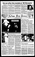 Acton Free Press (Acton, ON), August 8, 1984