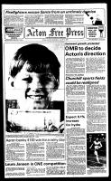 Acton Free Press (Acton, ON), August 15, 1984