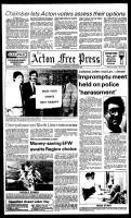 Acton Free Press (Acton, ON), August 29, 1984