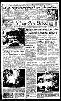 Acton Free Press (Acton, ON), October 10, 1984