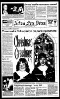 Acton Free Press (Acton, ON), December 19, 1984