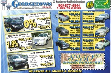 Georgetown Chevrolet, page CHEV02 and 03