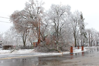 Norval, Ice Storm 2013