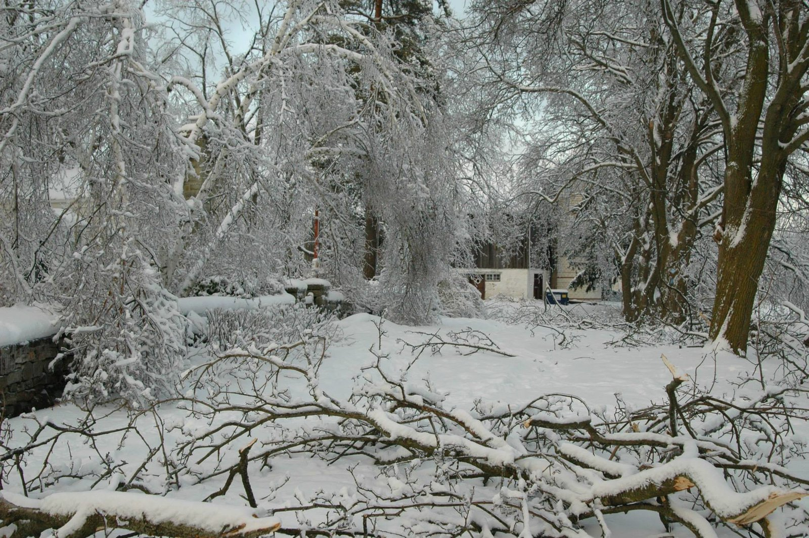 Scotsdale Farm, Ice Storm 2013