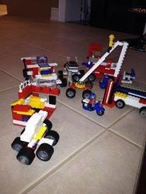 Lego Creation of Hydro Crew, Ice Storm