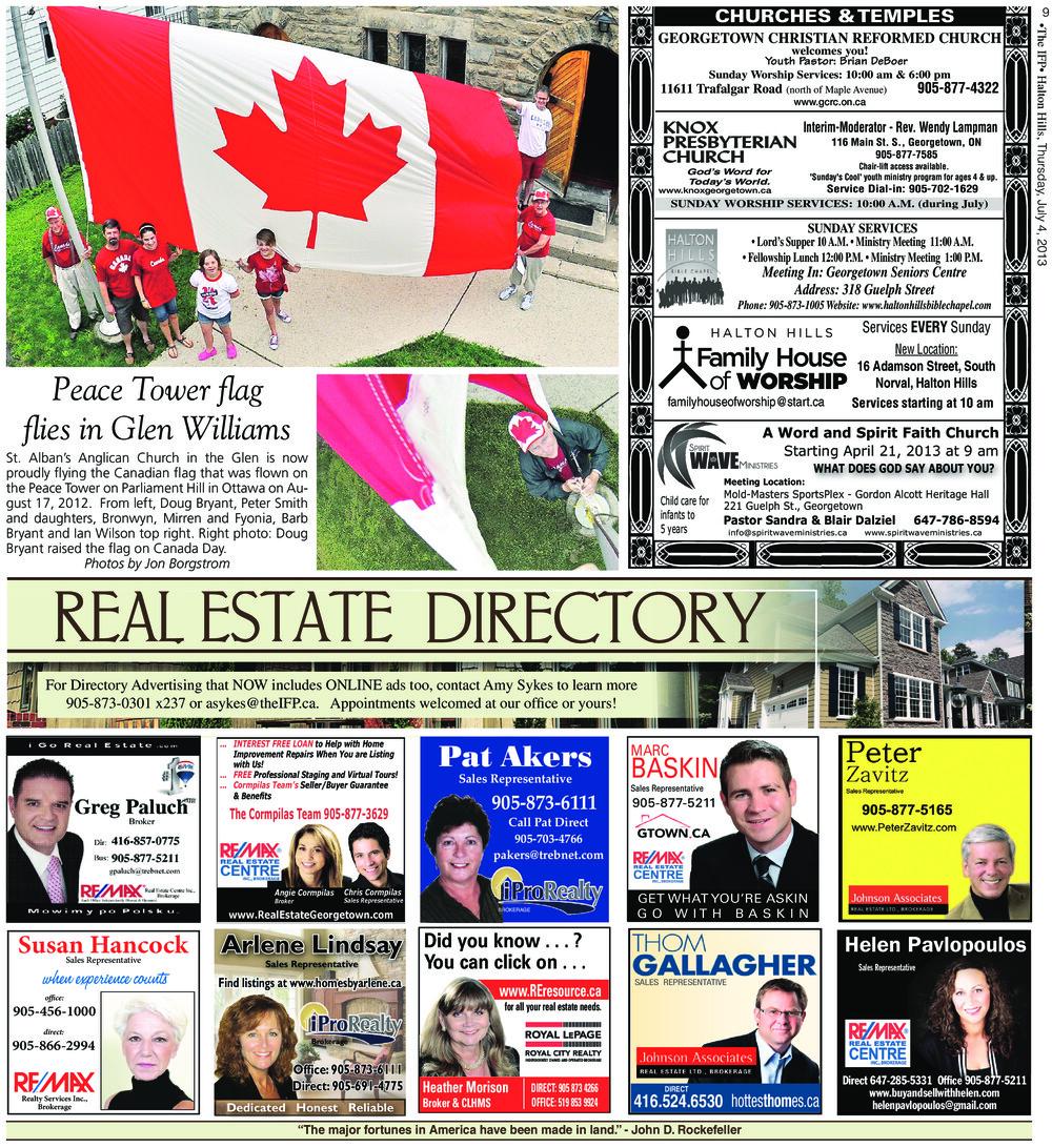 Independent & Free Press (Georgetown, ON), 4 Jul 2013