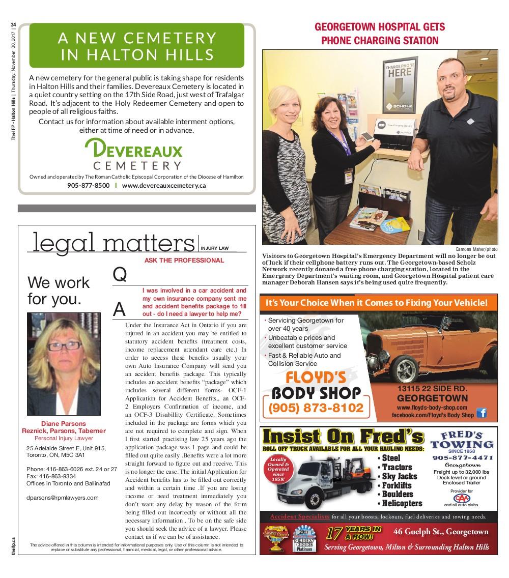 Independent & Free Press (Georgetown, ON), 30 Nov 2017