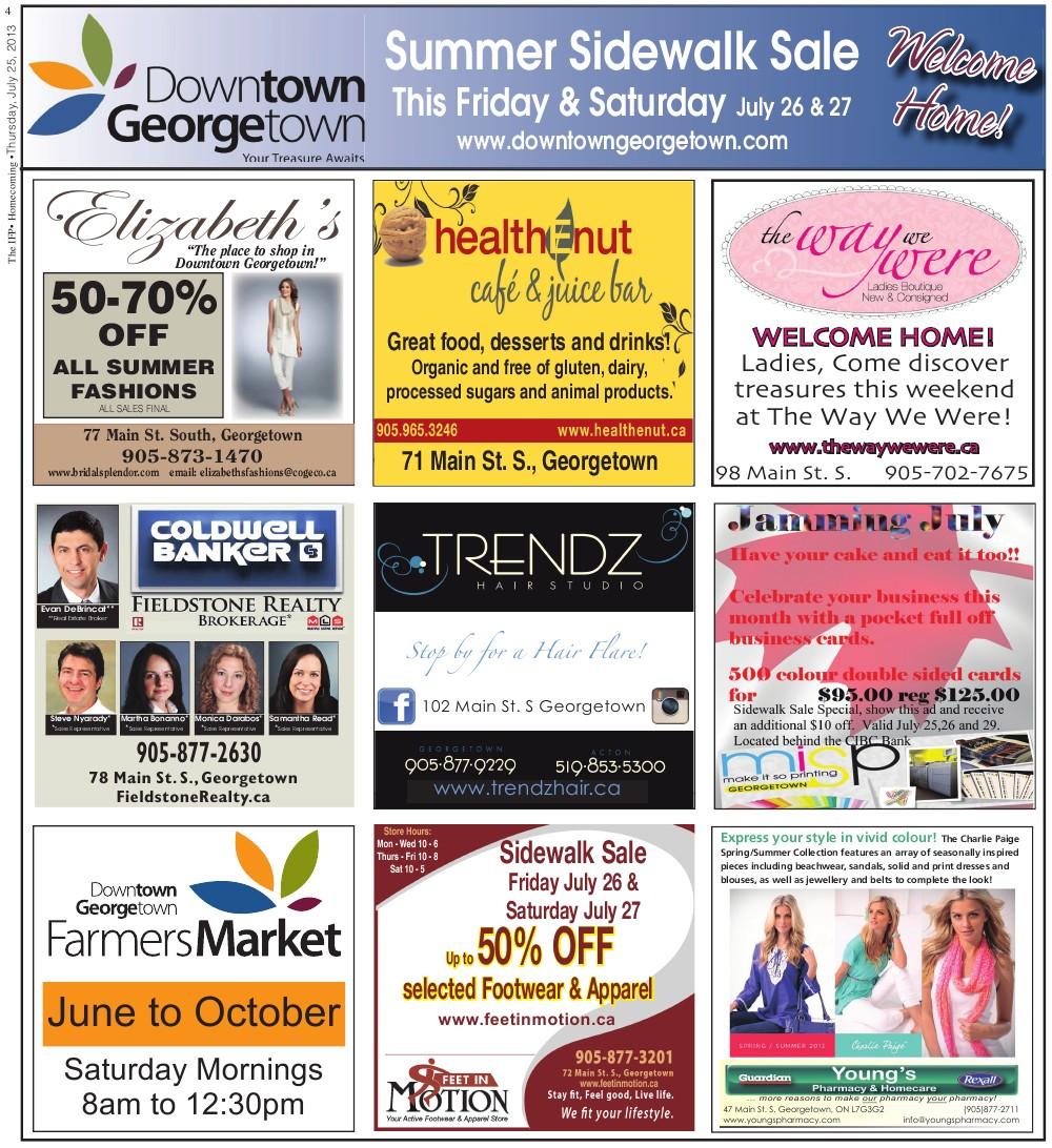 Independent & Free Press (Georgetown, ON), 25 Jul 2013